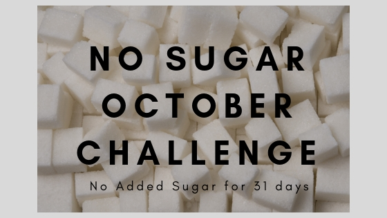 No SUGAR OCTOBER CHALLENGE
